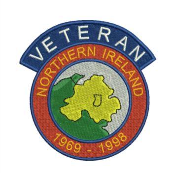 Northern Ireland Veteran Embroidered Polo Shirt